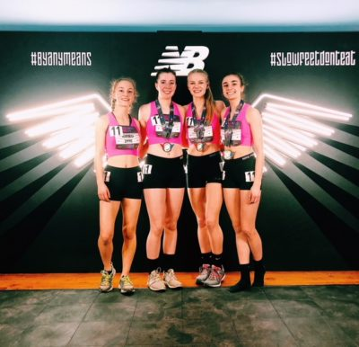 Butler track athletes perform in New York City